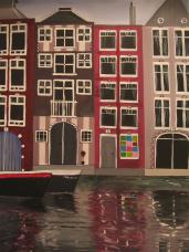 amsterdam teil 1, acryl auf canvas.